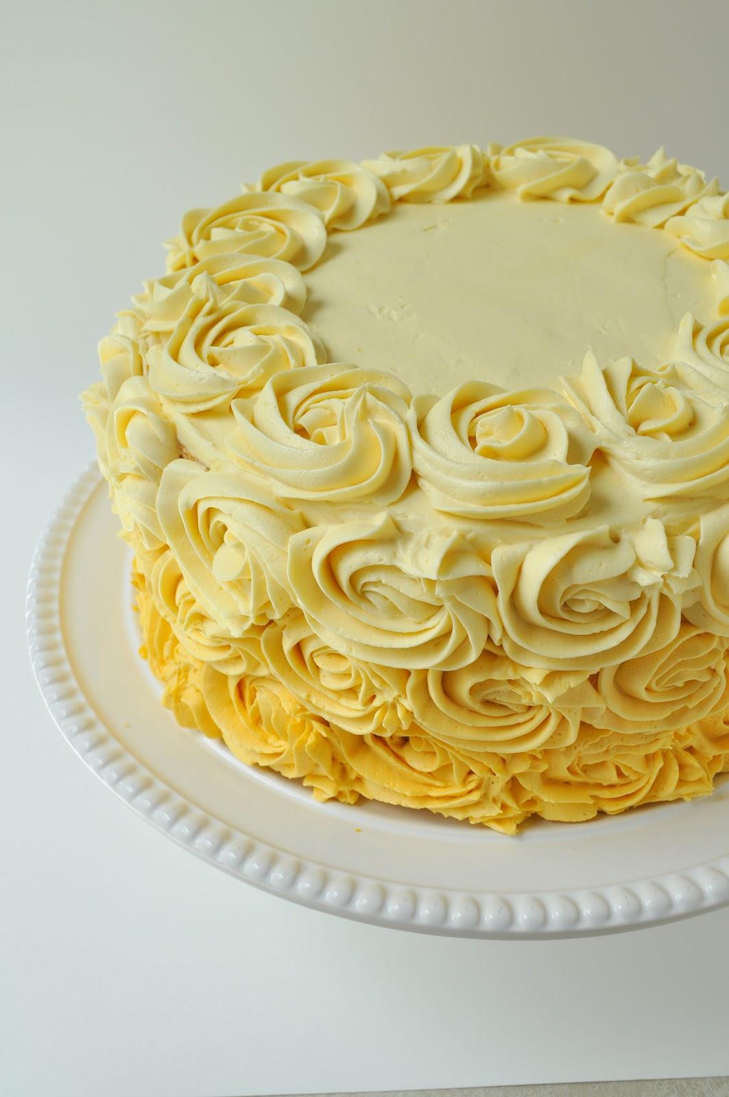 birthday cake 11 jpg 60th birthday cake yellow a pretty birthday cake ...