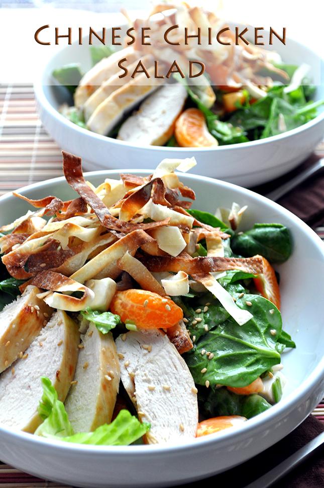 Chinese Chicken Salad Recipe- Farmgirl Gourmet